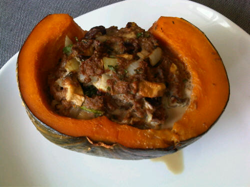 Stuffed pumpkin 2