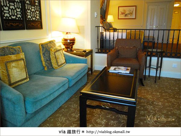 【澳門住宿】澳門威尼斯人酒店~享受奢華的住宿風格!20