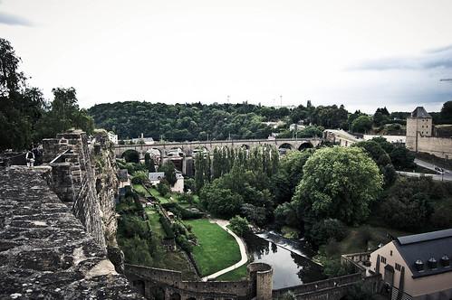Luxemburgo - Muralla
