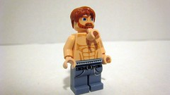 Chuck Norris (The Brick Guy) Tags: lego awesome fist mrt chucknorris minifigure