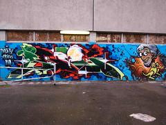 Brighton Street Art 63 (tobysx70) Tags: street uk toby urban art digital canon graffiti sussex alley mural brighton paint king place can spray powershot east rolf kangaroo bond harris hancock between s90 canonpowershots90 canons90 tobyhancock