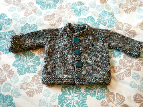 Max's cardi - finished