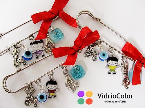 Prendedores amuletos de protección x3!!!