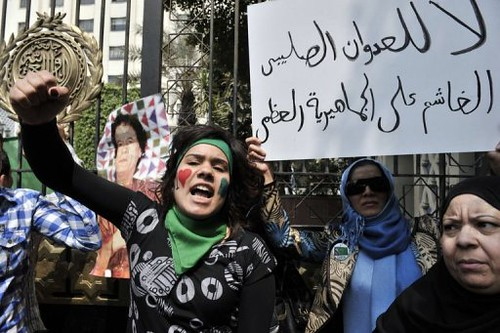 Libyans denounce imperialist air attacks on the North African state. Condemnations are growing against the U.S, and the Western Europeans who are bombing the country. by Pan-African News Wire File Photos