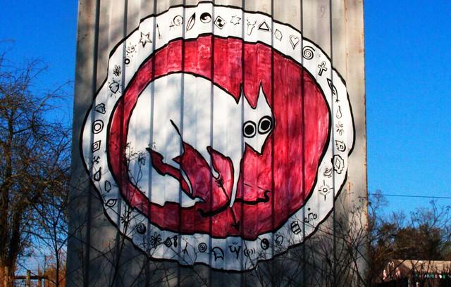 White Fox Mandala