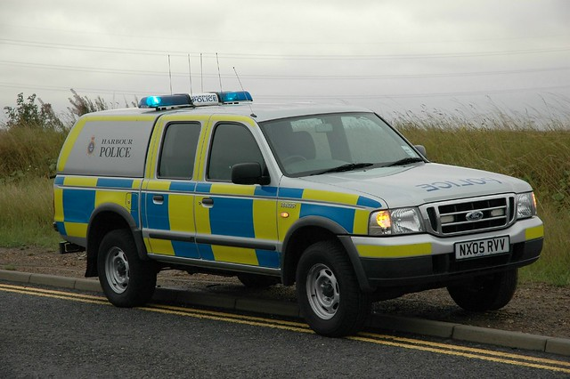 ford ranger harbour police tees hartlepool