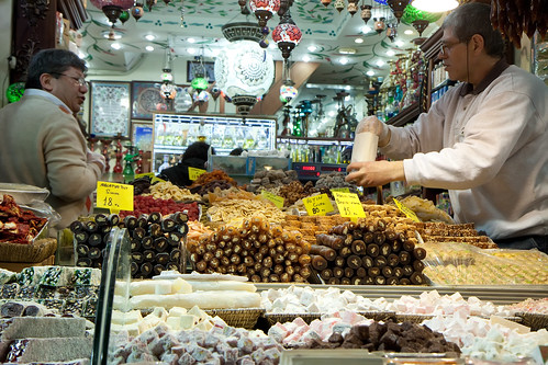 Istanbul Spice Market by Olga Irez of Delicious Istanbul