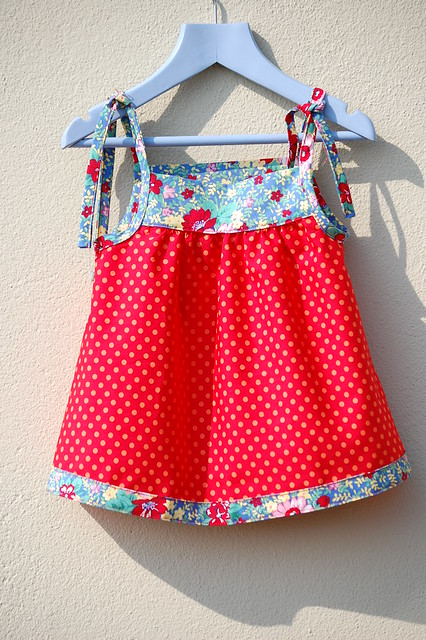 Red Spotty Sundress