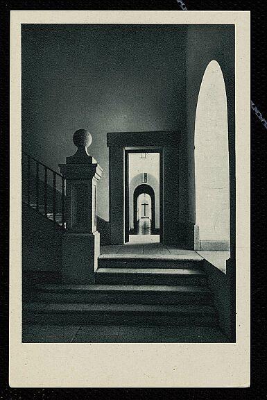 Interior del Hospital Tavera a mediados del siglo XX. Fotografía de Salgado