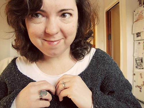 Bam! week 12 - Finally finished knitting my sweater