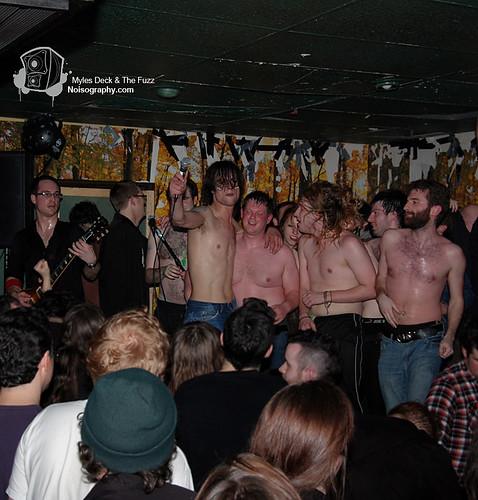 Myles Deck & The Fuzz - Gus' Pub - March 19th 2011 - 01