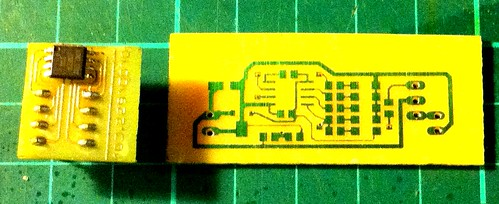 Flat Mate PCB and breakout