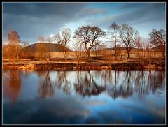 Warm / Gorąco (Rantes) Tags: trees reflection nature water clouds landscape spring natural natura goldenhour woda earlyspring wiosna przyroda chmury odbicie drzewa krajobraz lowersilesia liebau thebp pejzaż dolnyśląsk lubawka bramalubawska złotagodzina wczesnawiosna