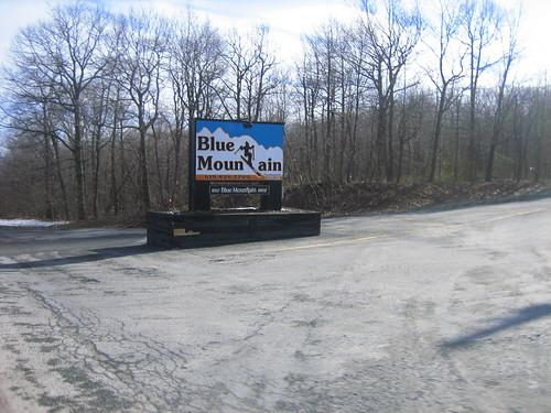 At the top Blue Mountain ski resort