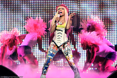 Nicki Minaj (Joe Gall Photography) Tags: pink barbie mmm corset spandex mixmastermike april2 2011 rickross
