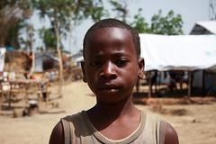 Sin noticias de sus padres. Refugiados de Costa de Marfil
