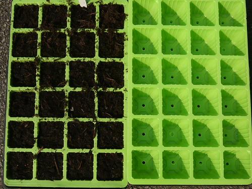 Plastic seed trays
