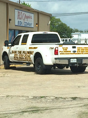 """Truck Decals done for Sam the Plumber! <a style=""""margin-left:10px; font-size:0.8em;"""" href=""""http://www.flickr.com/photos/69723857@N07/13886126763/"""" target=""""_blank"""">@flickr</a>"""