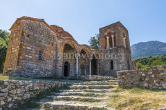 The temple on a mountain slope (Ivanov Andrey) Tags: temple ruins architecture chapel archaeology color colorful culture faith harmony history journey landscape light meditation monastery monument nature old prayer religion religious scenic column arch staircase step plate sun stone stones symbol tranquil travel wall walls worship greece