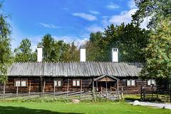 Wooden house at Skansen in Stockholm, Sweden 16/9 2016. (photoola) Tags: stockholm sweden photoola skansen djurgården woodenhouse