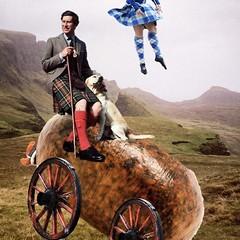 Haggismobile (Flamenco Sun) Tags: highlandgames twirl kilt highlands shortbread scot haggis scotland royal balmoral princecharles