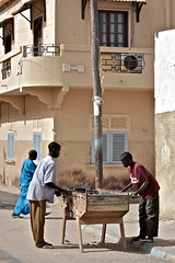 Afternoon Match (Now'here Photography) Tags: street game kid alley child foosball senegal saintlouis 5star babyfut