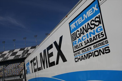 The 2010 Rolex Series Champions Chip Ganassi Racing with Felix Sabates