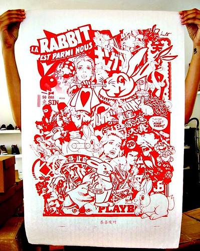 CNY Bunny Prints by Mojoko