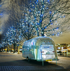 airstream (Andrew :-)) Tags: longexposure trees london 120 6x6 film night silver mediumformat lights southbank chrome spaceage mamiyac33 fujiprovia400x mobilecafe sekor80mm28