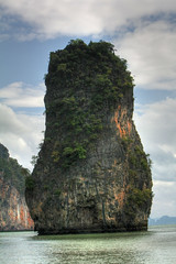 James Bond Island (Shahriar Xplores...) Tags: park travel blue sea sky white west tree green nature water beautiful canon thailand island eos landscapes asia tour open view angle image air hill wide wave soil national thai dhaka canoeing phuket sell scape bangladesh touring waterway jamesbondisland gettyimages aisa 550d requesttolicense wideanglenationalpark shahriarphotography
