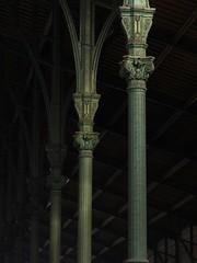 Gare du nord colonnes écossaises