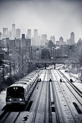 NYC-7977 (ken.flame) Tags: new york bridge train island long view manhattan railway queens express 200mm