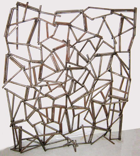 Tony Rosenthal  Large Steel Sculpture