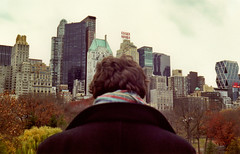 quiet city (scott w. h. young) Tags: city nyc newyorkcity autumn sky love film skyline 35mm quiet brother centralpark manhattan