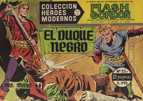010--Flash Gordon nº25-coleccion Heroes Modernos-Editoria Dolar