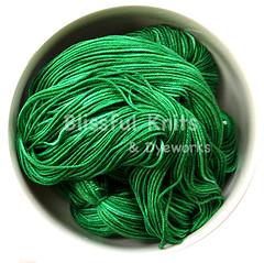 'Emerald' on Rhea Silk