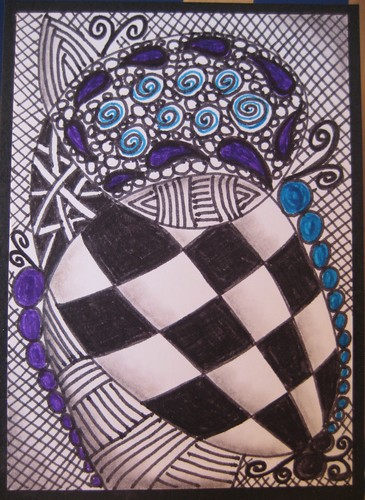 Zentangle swap