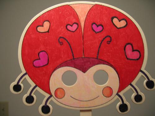 Ladybug Mask II