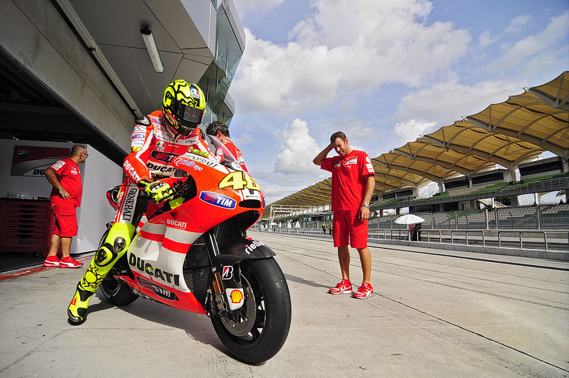 MotoGP Winter Test at Sepang 2011
