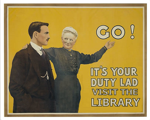 It's your duty to visit the library