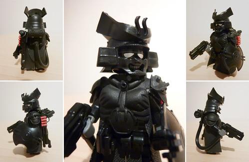 Custom minifig Apoc Samurai custom lego minifigure