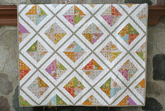 Urban Lattice quilt complete (freshlypieced) Tags: farfaraway heatherross urbanlattice