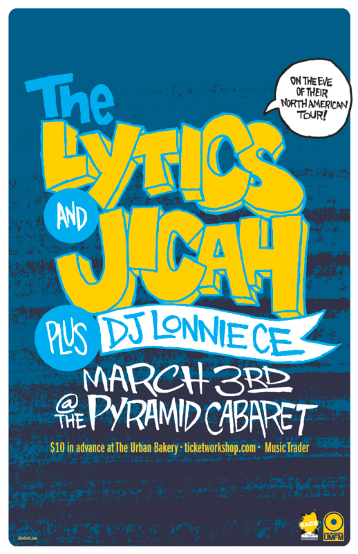 The Lytics and Jicah Poster