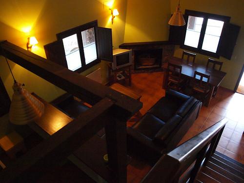 Las Salegas del Maguillo, salón de una de las casas (2)