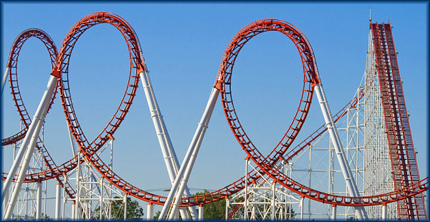 "I can't even look at roller coasters without thinking ""Oh!  Diabetes!"""