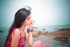 leanna_011a () Tags: portrait beach girl island dream melaka     2011   pulaubesar