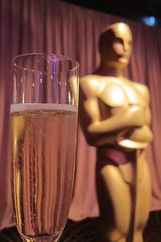 2011 Oscar Food: Oscar Statue + Champagne