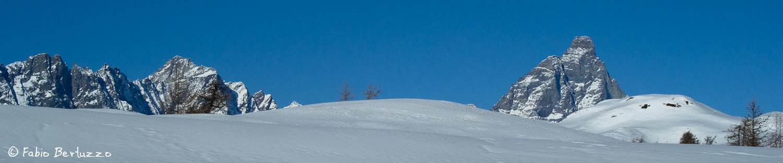 Dent d'Herens e Monte Cervino