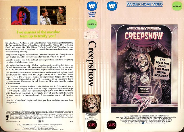 Creepshow (VHS Box Art)