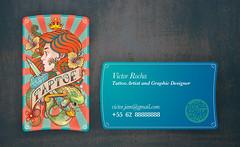 Cartao Taptoe (ilustracionamentador) Tags: tattoo design drawing bicicleta victor card draw ilustrao ilustration desenho cartao ilustracion tatuagem ilustraciones taptoe bicicletasemfreio victorjam